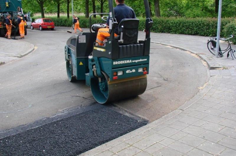 asfalt reparatie