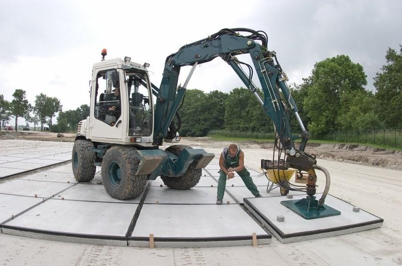 betonplaten leggen